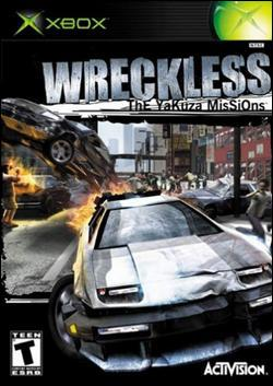 Wreckless: The Yakuza Mission Box art