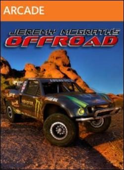 Jeremy McGrath's Offroad (Xbox 360 Arcade) by Microsoft Box Art