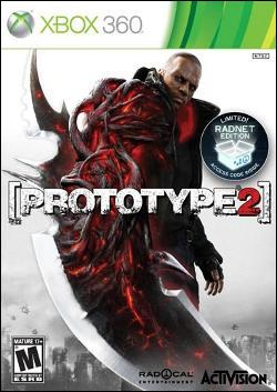 Prototype 2 (Xbox 360) by Activision Box Art