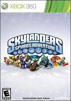 Skylanders Spyro's Adventure (Xbox 360) by Activision Box Art