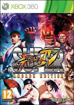 Super Street Fighter IV Arcade Edition (Xbox 360) by Capcom Box Art