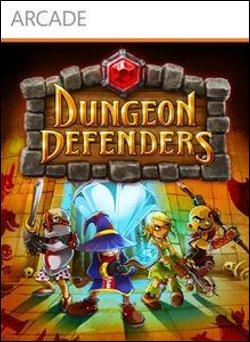 Dungeon Defenders  (Xbox 360 Arcade) by Electronic Arts Box Art