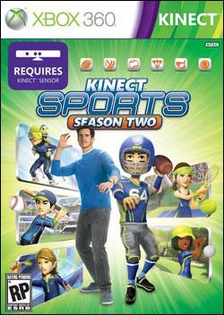 Kinect Sports: Season 2 Box art