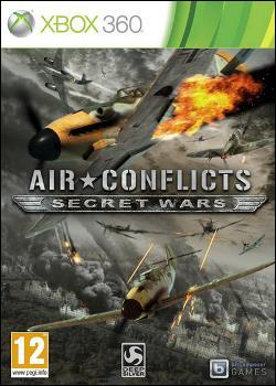 Air Conflicts: Secret Wars (Xbox 360) by Atlus USA Box Art
