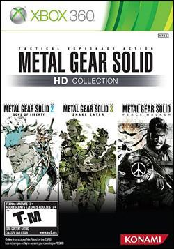 Metal Gear Solid HD Collection (Xbox 360) by Konami Box Art