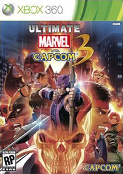 Ultimate Marvel Vs Capcom 3  Box art