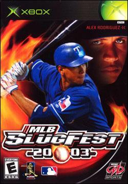 MLB Slugfest 2003 Box art