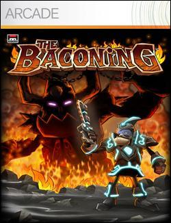 The Baconing  (Xbox 360 Arcade) by Microsoft Box Art