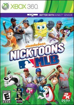 Nicktoons MLB (Xbox 360) by 2K Games Box Art