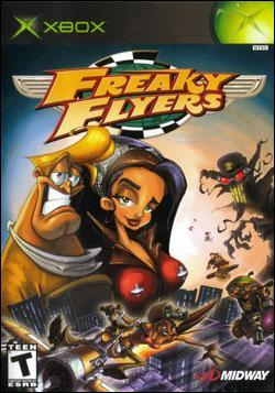 Freaky Flyers (Xbox) by Midway Home Entertainment Box Art