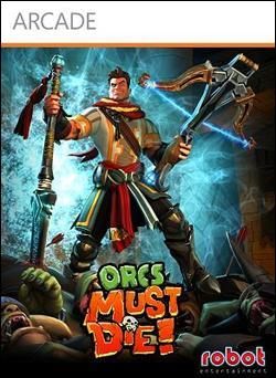 Orcs Must Die Box art