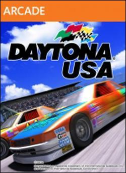 Daytona USA (Xbox 360 Arcade) by Sega Box Art