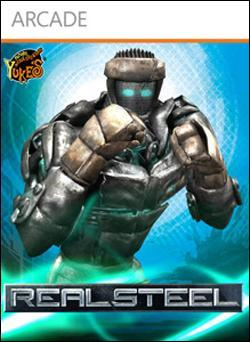 REAL STEEL (Xbox 360 Arcade) by Microsoft Box Art