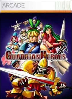 Guardian Heroes (Xbox 360 Arcade) by Sega Box Art