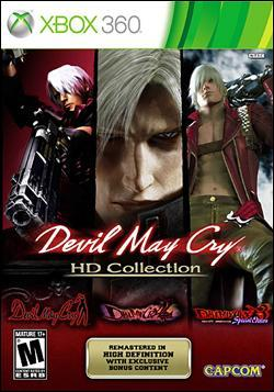 Devil May Cry HD Collection (Xbox 360) by Capcom Box Art