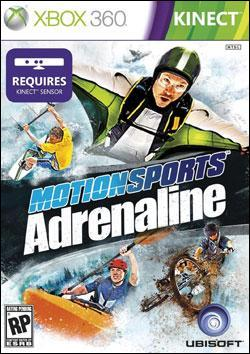Motion Sports: Adrenaline Box art