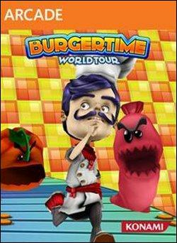 BurgerTime World Tour (Xbox 360 Arcade) by Microsoft Box Art