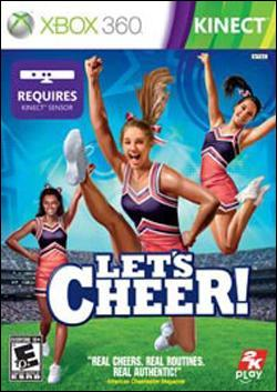 Let's Cheer! (Xbox 360) by Microsoft Box Art