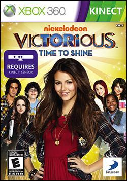 Victorious: Time to Shine  (Xbox 360) by D3 Publisher Box Art