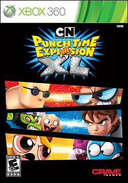 Cartoon Network Punch Time Explosion (Xbox 360) by Crave Entertainment Box Art