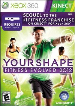 Your Shape: Fitness Evolved 2012 Box art