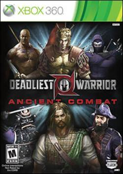 Deadliest Warrior Ancient Combat  (Xbox 360) by Microsoft Box Art