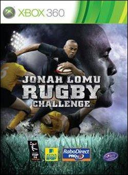 Jonah Lomu Rugby Challenge   (Xbox 360) by Microsoft Box Art