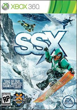 SSX (Xbox 360) by Electronic Arts Box Art