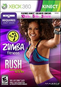 Zumba Fitness Rush (Xbox 360) by Majesco Box Art