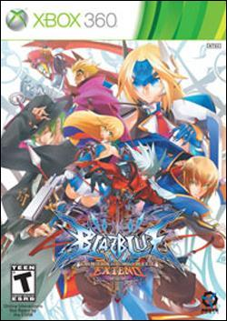 BlazBlue: Continuum Shift Extend  (Xbox 360) by Aksys Games Box Art