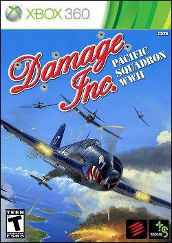 Damage Inc. Pacific Squadron WWII  (Xbox 360) by Madcatz Box Art