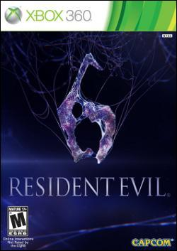Resident Evil 6  (Xbox 360) by Capcom Box Art