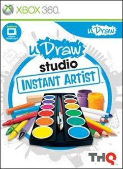 uDraw Studio: Instant Artist   (Xbox 360) by Microsoft Box Art