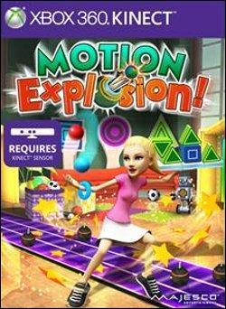 Motion Explosion (Xbox 360) by Microsoft Box Art