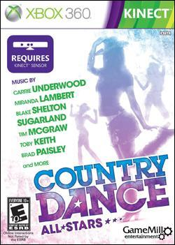 Country Dance: All Stars Kinect  (Xbox 360) by Microsoft Box Art