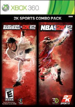2K SPORTS MLB 2K12 / NBA 2K12 COMBO PACK (Xbox 360) by Take-Two Interactive Software Box Art