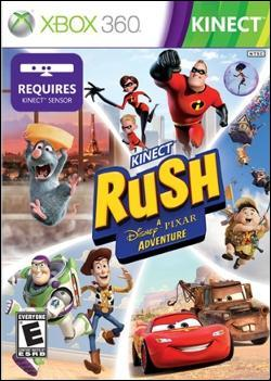 Kinect Rush: A Disney-Pixar Adventure Box art