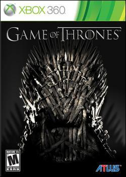 Game of Thrones (Xbox 360) by Atlus USA Box Art