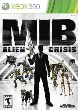 Men in Black: Alien Crisis (Xbox 360) by Activision Box Art