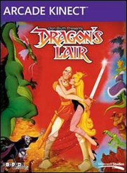 Dragons Lair Box art