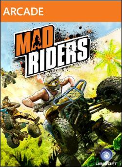 Mad Riders Box art