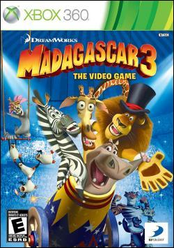 Madagascar 3: The Video Game (Xbox 360) by D3 Publisher Box Art