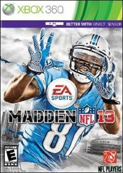 Madden NFL 13 (Xbox 360) by Electronic Arts Box Art