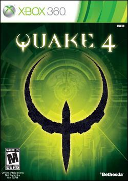 Quake 4 - Re-release (Xbox 360) by Bethesda Softworks Box Art