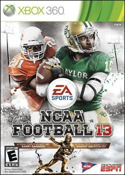 NCAA 13 (Xbox 360) by Electronic Arts Box Art