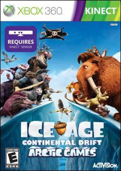 Ice Age: Continental Drift - Arctic Games (Xbox 360) by Activision Box Art