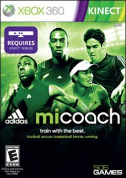 Mi Coach (Xbox 360) by 505 Games Box Art