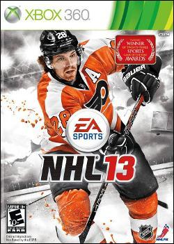NHL 13 Stanley Cup Box art