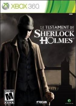 The Testament of Sherlock Holmes (Xbox 360) by Atlus USA Box Art