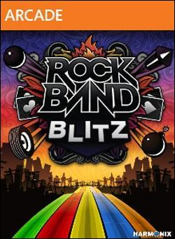 Rock Band Blitz (Xbox 360 Arcade) by Microsoft Box Art